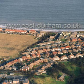 The Eastern end of Dene House Road, known in the 1800s and first half of the 1900s as Lovers Lane. Photograph c 2000.Copyright FlyingFotos  www.seahamfromtheair.co.uk