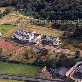 Seaham Hall in the early days of it's conversion to a world class hotel in 2000.Copyright FlyingFotos  www.seahamfromtheair.co.uk