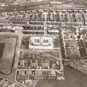 Princess Rd and Maureen Tce roads laid July 1931 Girls Grammar School 1930 - 1964. Camden Square Secondary 1930-1979Photograph c 1931