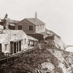Baths and scout's hut in 1910.