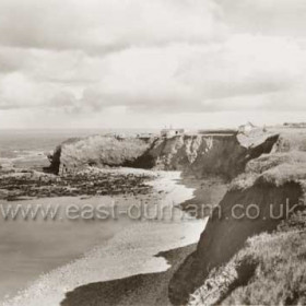 Looking S to Featherbed Rock, North Battery and Bath Tce. Photo late 30's?
