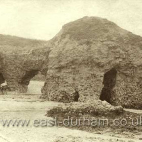 Blackhall Rocks c1890