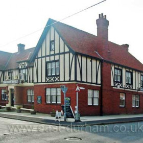 The Blackhall Hotel, built about 1925 it was known as the Trust as that was the name of the company who built it, they came from the North Yorkshire area, it is now call the Chimneys, it is at the top end of East Street, at the other end of the Managers Houses.             The LNER built a Halt on the line at the other side of the street to the Chimneys,  the halt was opened by Mrs Chicken the Colliery Manager's Wife in 1934.                 Bob Williams