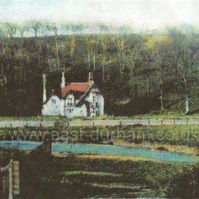 This is a postcard copy of the Game Keepers Cottage, we used to call it the Dolls House when we were Kids, RW