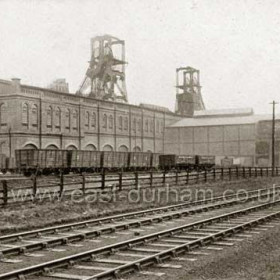 Blackhall Colliery from the north in 1929.