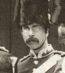 Lt J CHILTON  Volunteers c 1890.
