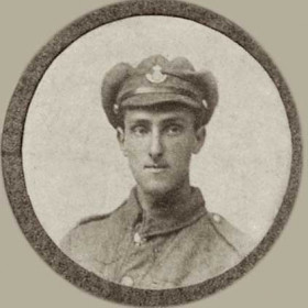 F COOPER, p/graph from St John's Roll of Hon. WW1
