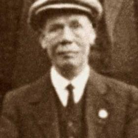 WILLIAM COOPER father of Tom Cooper. Photo Engineworks c1930?