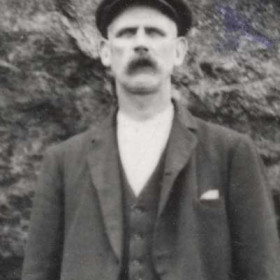MR COYLE father of (James Coyle b 24 May 1885 d 1 Jul 1955) Photograph c1895