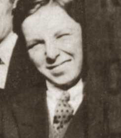 JIM CRAIG, p/graph outside 7 Blandford Place in the late 1920s.