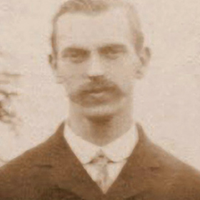 Seaham Colliery Official, photograph Aug 1912.