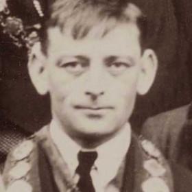 Dawdon Colliery banksman. RAOB member. Photograph 1920