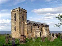 St Mary the Virgin, Seahams 7th century church.Photo Dave Angus 2003