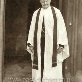 The Rev. Angus Bethune of St John's Church (Seaham Harbour) and St Mary the Virgin Church at old Seaham, preached until his death aged 97 in 1908. He became the first vicar of St John's in 1845 when Seaham Harbour was declared a separate incumbency to Dalton le Dale.