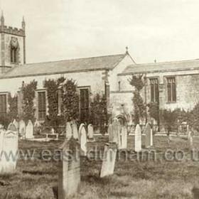 St John's Church probably around 1900Gravestones removed c 1958
