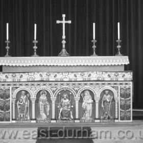 Altar in St Hild and St Helen's, Dawdon c 1980