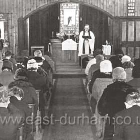 Congregation at All Saints Deneside 1932-1965.