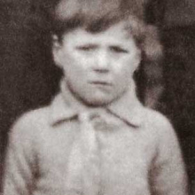 Billy Dow. Photograph- Seaton Village School c1924