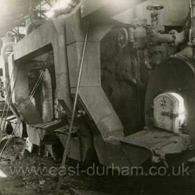 Dawdon Colliery Boiler Plant, 1958
