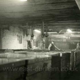 Castlereagh Shaft bottom, east side. 1958