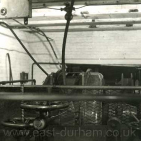 Castlereagh Shaft endless hauler house in 1958