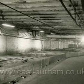 Castlereagh Shaft sidings, looking west in 1958.