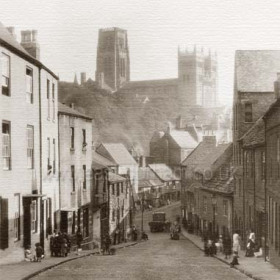Cathedral from Milburngate.