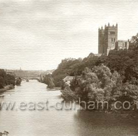 Cathedral from Prebends Bridge.