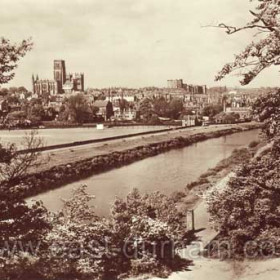 Durham from Pelaw Woods in 1953