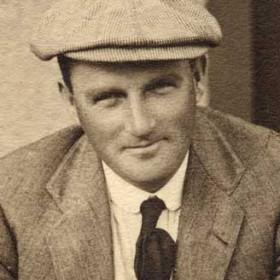 D Edgar, photograph 1912, Seaham Golf Club