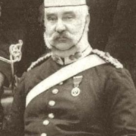 Colonel J B EMINSON  Volunteers  c 1890.