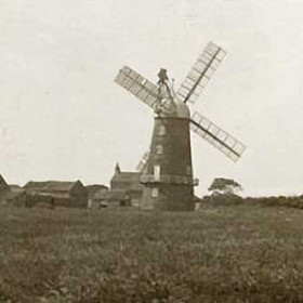 Windmill Easington, before 1913.