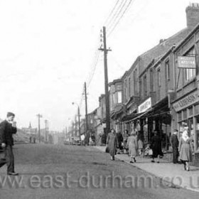 Seaside Lane in the 1950s