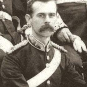 Lt G N GINNES  Volunteers c 1890.