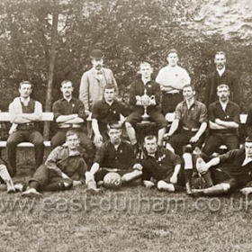 Seaham White Star AFC 1893. Played on Cottages Field.