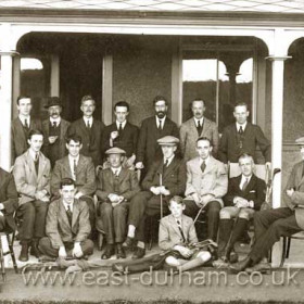 Seaham Golf Club.  Photograph 1920s