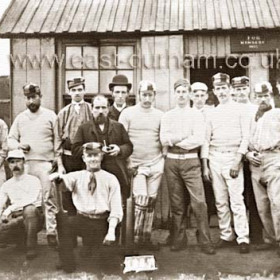 Seaham cricketers probably The Ernest team who played at Seaham colliery near Stewart St formed around 1870 finished 1916. Photograph 1887In 1871 a professional cricketer aged 39 from Cambridge lived in Emily St.