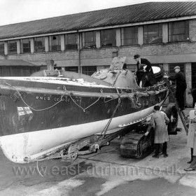 The George Elmy at Boreham Wood, Herts Depot of the RNLI around 27/11/1962