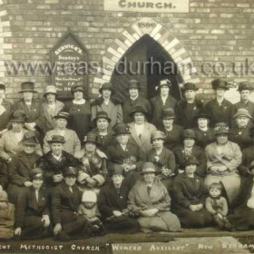 "New Seaham Independent Methodist Church ""Women's Auxillary"" (Eastlea), 1920s?"