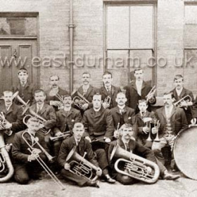 St Mary Magdalene's Catholic Brass Band  12 Sept 1903