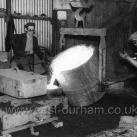 Jennings Foundry in Ropery Walk around 1950.