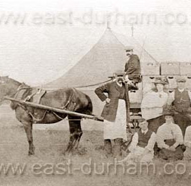 Seaham Flower Show at Seaham Hall grounds. First show 1858