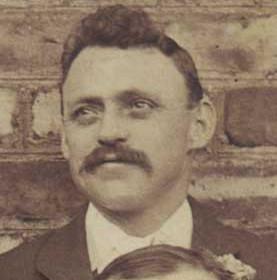 E HALL, vice president of Seaham Villa AFC. Photograph 1899