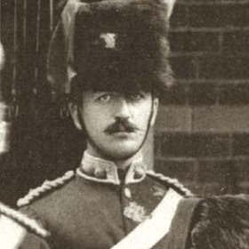 Lt HALL  Volunteers  c 1890