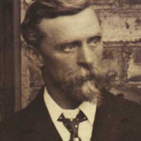 W HALL, chairman of Seaham Villa AFC. Photograph 1899