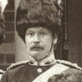 Lt G W HARDY   Volunteers c 1890.