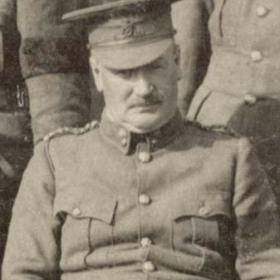 Major G HARDY   Volunteers  1911.