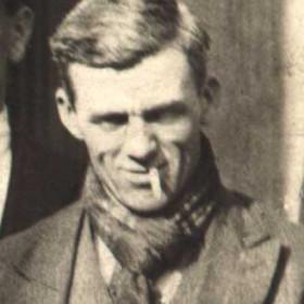 JACK HARRISON  Photographed at rear of Seaham pub c 1930