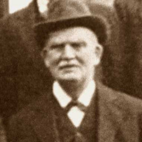 JIM HARRISON foreman blacksmith at Engineworks Photo c 1930?