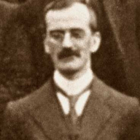 TANTY HARRISON manager of Londonderry Engineworks. Photo c1930?